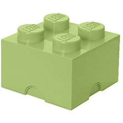 Room copenhagen Pojemnik lego 4 żółtawa zieleń - lego pojemniki