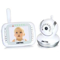 SWITEL Cyfrowa niania elektroniczna BCF985 ze zdalnie sterowaną kamerą, towar z kategorii: Nianie elektroniczne