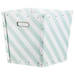 KIDS CONCEPT Pudełko na akcesoria Star zielony/biały z kategorii Dekoracje i ozdoby dla dzieci