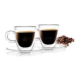 Szklanki espresso z podwójnymi ściankami amo  marki Vialli design