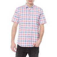 koszula niebieski czerwony biały m marki Tom tailor