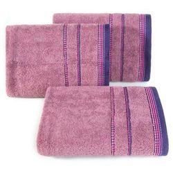 Ręcznik Kora 50x90 Eurofirany ciemny liliowy, 7088