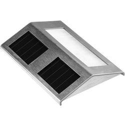 Lampa solarna na schody schodowa stal nierdzewna marki Solaris