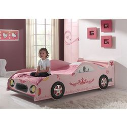 Łóżko dla dziewczynki Lizzy BENTLY PINK Car