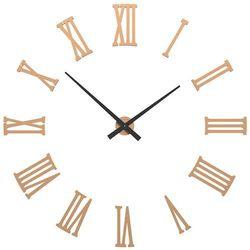 Zegar ścienny Da Vinci CalleaDesign jasnobrzoskwiniowy, kolor różowy