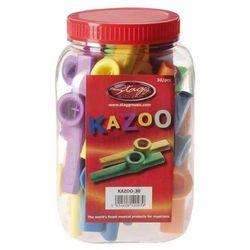 Stagg KAZOO 30 - kolorowe kazoo, opakowanie 30 szt z kategorii Pozostałe instrumenty dęte