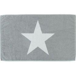 Cawö Frottier dywanik łazienkowy Big Stars, srebrny (4011638979602)