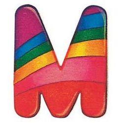 SELECTA Drewniana literka M z kategorii Dekoracje i ozdoby dla dzieci