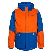 Columbia SLOPE STAR Kurtka narciarska super blue/tangy orange