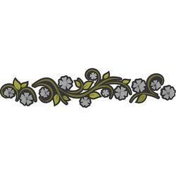 Wieszak ścienny flowers  oliwkowo-zielony marki Calleadesign