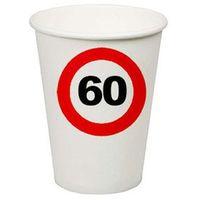 Kubeczki znak zakazu 60tka - 200 ml - 8 szt. marki F f