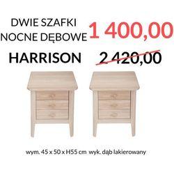 Signu Design Zestaw 2 szafek nocnych HARRISON - WYPRZEDAŻ