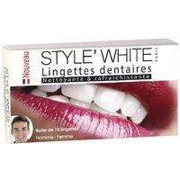 Chusteczki do czyszczenia i pielęgnacji zębów, paski wybielające STYLE' WHITE