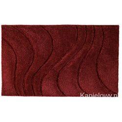 La ola dywanik łazienkowy 60x90cm poliester, czerwony 729316 od producenta Ridder