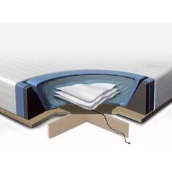 Komplet akcesoriów do łóżka wodnego z podestem - 160x200 cm marki Beliani