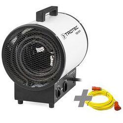 Nagrzewnica elektryczna TDS 50 R + przedłużacz profesjonalny 20 m / 400 V / 2,5 mm²
