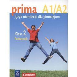 Prima A1/A2. Język Niemiecki dla Gimnazjum. Podręcznik. Klasa 2, książka w oprawie miękkej