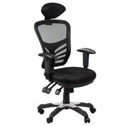 Fotel obrotowy biurowy HG-0001H/CZARNY krzesło obrotowe, HG-0001H/BLACK
