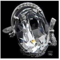 SWAROVSKI przepiękny pierścionek CRYSTAL SREBRO, 3418184461