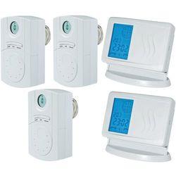 Głowica termostatyczna, bezprzewodowa- zestaw 7 do 35 °C (zawór i głowica ogrzewania)