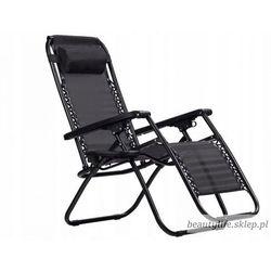 Leżak fotel ogrodowy rozkładany marki Goodhome