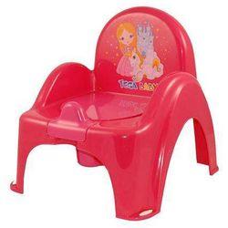 NOCNIK KRZESEŁKO KSIĘŻNICZKA - czerwony z kategorii krzesła i stoliki