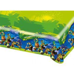 Obrus urodzinowy Wojownicze Żółwie Ninja - 120 x 180 cm - 1 szt.