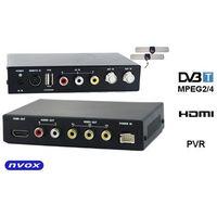 dvb 2100hd samochodowy tuner telewizji cyfrowej dvb-t mpeg 2/4 slim full hd av usb hdmi marki Nvox