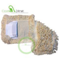 Mop bawełniany DUO (kieszeń+klips) 50cm