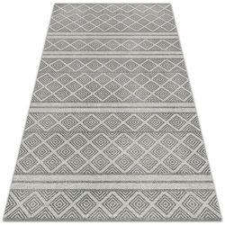 Piękny dywan zewnętrzny piękny dywan zewnętrzny geometryczny wzór romby marki Dywanomat.pl