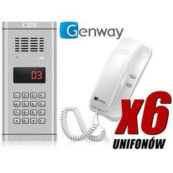 Domofon 6-rodzinny wl-03nl cyfr. marki Genway
