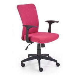 Fotel do komputera dla dziewczynki Syriusz - różowy