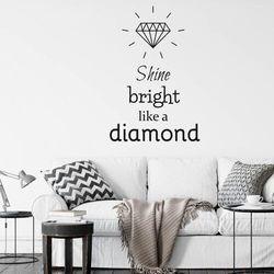 Szablon do malowania shine bright like a diamond 2496