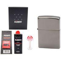 Zapalniczka  black ice grawer zdjęć benzyna marki Zippo