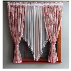 Kasandra Firanka amore 150x400cm różowa