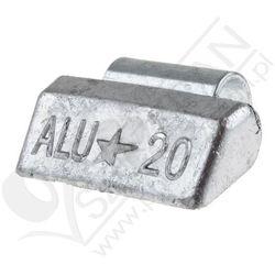 Ciężarki do felg aluminiowych Fivestars nabijane ołowiane 20g - 20g, towar z kategorii: Pozostała motoryza