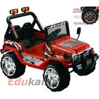 RAPTOR DRIFTER Szerokie Piankowe Koła EVA! Auto na akumulator 2x45W STRONG + TABLICE