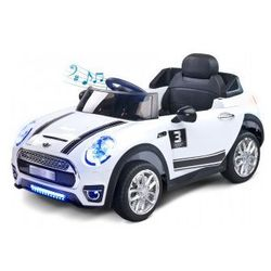 Toyz Maxi samochód na akumulator nowość white (dziecięcy pojazd elektryczny)