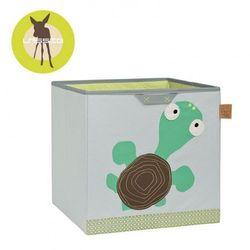 pudełko na zabawki wildlife żółw marki Lassig