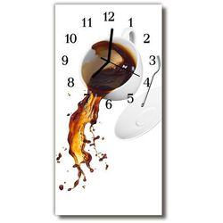 Zegar Szklany Pionowy Kuchnia Kawa filiżanka kolorowy, kolor wielokolorowy