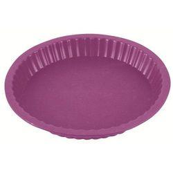 Silikonowa forma do tarty Delice fioletowa (śr. 27 cm)