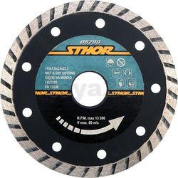 """Tarcza diamentowa """"turbo"""" - 115mm / 08790 / STHOR - ZYSKAJ RABAT 30 ZŁ (5906083087905)"""