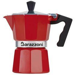 Kawiarka la caffetiera czerwona na 3 filiżanki marki Barazzoni