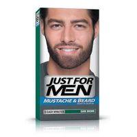 Just for men  m-45 ciemny brąz odsiwiacz, żel broda,wąsy,baki 2x14,2g