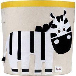 3 sprouts Pojemnik do przechowywania zebra