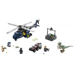 75928 POŚCIG ZA ŚMIGŁOWCEM (Blue's Helicopter Pursuit) - KLOCKI LEGO JURASSIC WORLD
