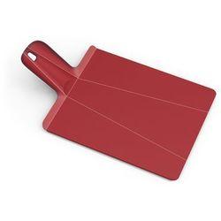 - chop 2 pot deska do krojenia składana czerwona wymiary: 38 x 21 x 1,5 cm marki Joseph joseph