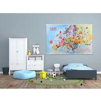Mapa Europy - mapa naścienna