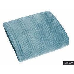 Selsey narzuta pikowana zeawa 220x240 cm błękitna