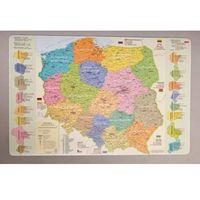 Podkładki na biurko: mapa administracyjna Polski